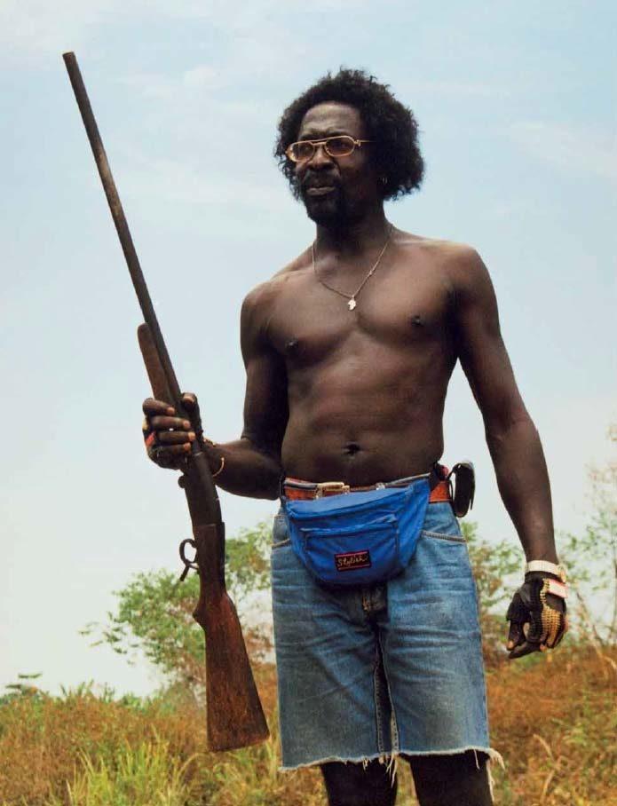 Booyaka klaar voor de jacht op bushmeat (1999)